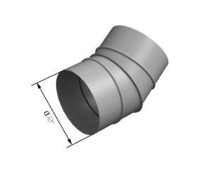 Отвод круглого сечения 30 из нержавеющей стали
