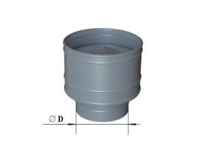 Дефлектор из оцинкованной стали