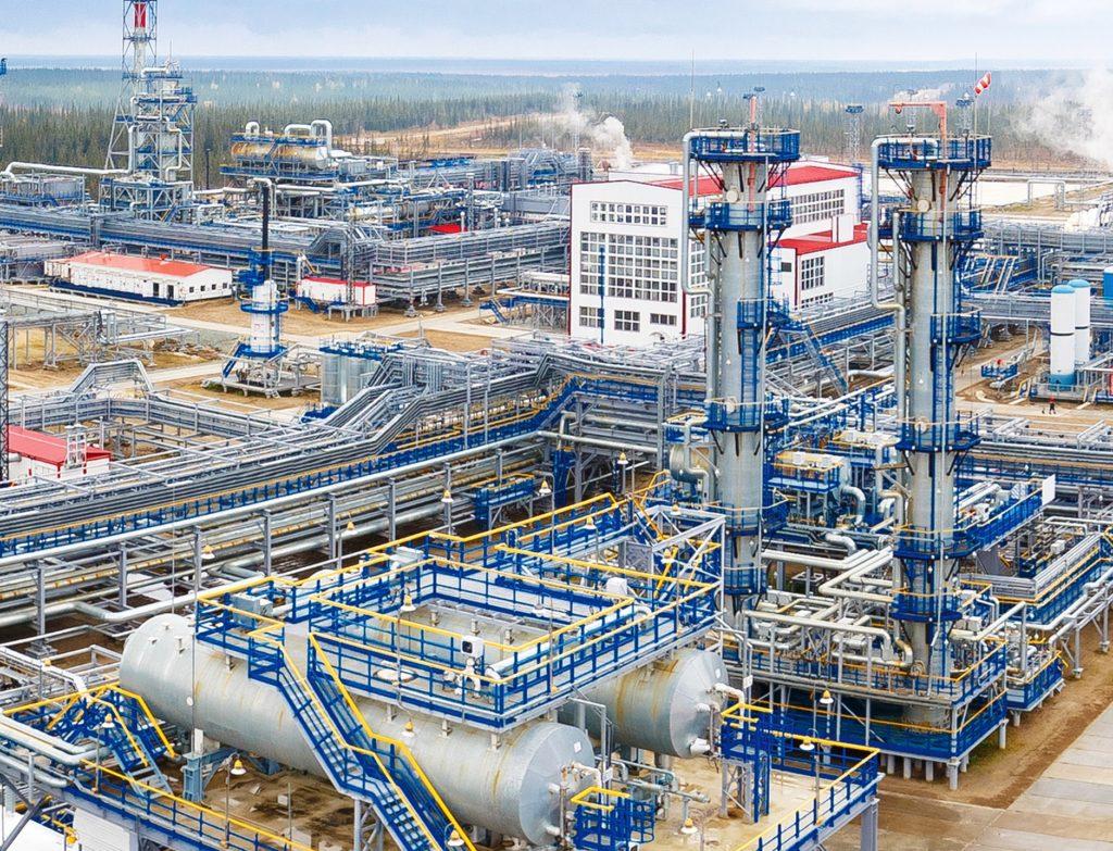 Входные сооружения по подготовке газа ЯНАО
