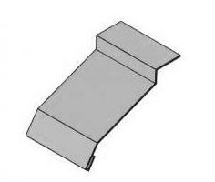 Отлив для фундамента 315 мм (тип 1)